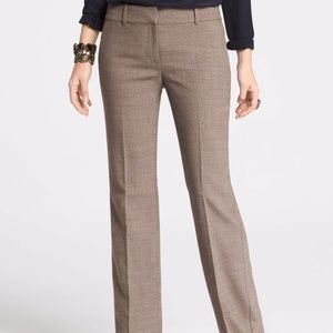 LOFT CURVY FIT DRESS PANT